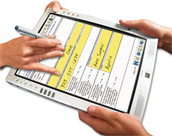 Electronically signing forms